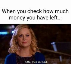 Oh my savings account...