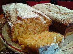 !Βίγκαν Συνταγές!: Κέικ καρότο