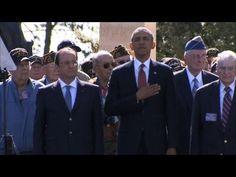 D-Day: Hollande et Obama au cimetière américain de Colleville