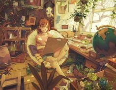 50 Examples of Anime Digital Art