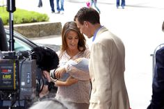 Princess Marie and Prince Joachim of Denmark introduce their new baby boy to the press at Rigshospitalet on May 7, 2009 in Copenhagen, Denmark. (Photo by Schiller Graphics/Getty Images) * Local Caption * Princess Marie;Prince Joachim.  (Schiller Graphics/Getty Images Europe)