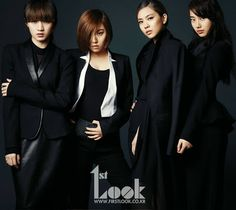 Miss A - 1st Look Magazine November 2012 Vol.32 Suzy Fei Jia Min
