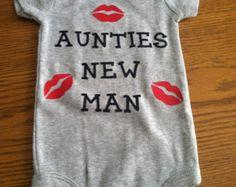 Grandma's/Mom's Little Man baby onesie Baby boy onesie Baby boy clothing Baby…