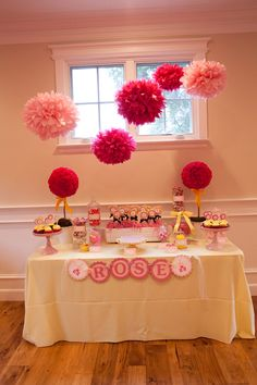 Cool Valentines or Princess Party Idea