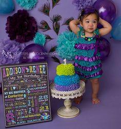 Newborn Photographer, Family Photographer, Cake Smash Backdrop, Photographing Babies, First Birthdays, Peacock, Maternity, Photographs, Photoshoot