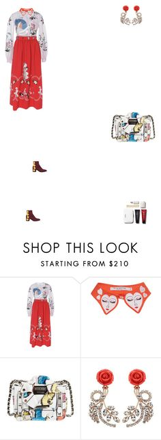 """Grace"" by zoechengrace ❤ liked on Polyvore featuring VIVETTA and Moschino"