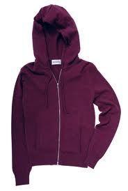 mon armoire vestes manteaux sweat shirt brora hooded