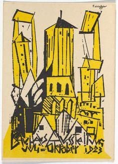 Postcard designed by Lyonel Feininger 2 | Eye Candy: 20 Rare Bauhaus Postcards | Co.Design | business + design
