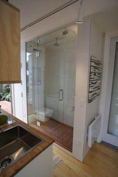 ห้องน้ำในบ้านตู้คอนเทนเนอร์