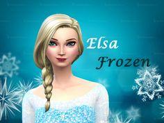 Elsa from Frozen by Niharika.Basu at Mod The Sims via Sims 4 Updates