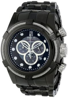 Invicta 14425 Men's Watch Jason Taylor Limited Edition Black-Ion Plated Stainless Steel