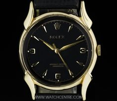 ROLEX 18K Y/G BLACK DIAL VINTAGE CHRONOMETER FANCY LUGS GENTS 4515  http://www.watchcentre.com/product/rolex-18k-y-g-black-dial-vintage-chronometer-fancy-lugs-gents-4515/4451