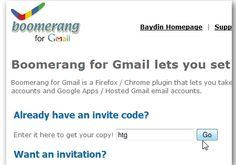 Send Or Receive Emails In Gmail On Your Schedule With Boomerang (And We Have Invites)