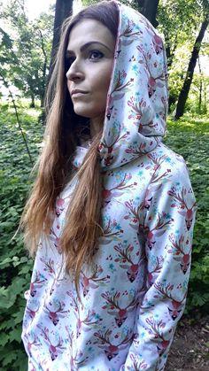 Deer hoodie size 42 | Etsy Digital Pattern, Hoodies, Sweatshirts, Deer, Trending Outfits, Fabric, Etsy, Fashion, Tejido