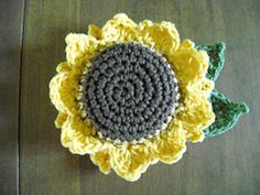 Ravelry: Sunflower Scrubbie pattern by beckyb