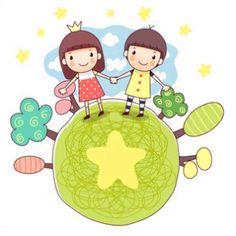 어린이날 도안 2번째 포스팅:) 앞에서 어린이날 선물 라벨 도안을 올렸는데, 이번에는 귀여운 아이들 도안... Kindergarten Math Activities, Cute Images, Teaching Art, Pre School, Art Education, Cute Drawings, Diy And Crafts, Hello Kitty, Clip Art