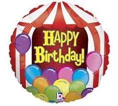 "Happy Birthday Circus Tent 18"" Mylar Balloon by Burton & Burton, http://www.amazon.com/dp/B0074MPIMW/ref=cm_sw_r_pi_dp_GkTiqb1SW44YB"