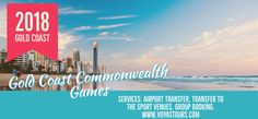 Commonwealth games 2018 on the Gold Coast