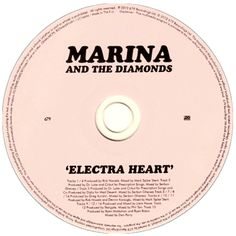 Marina and the Diamonds   Electra Heart CD Gif