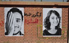 Photos from the pasting of the Cairo Inside Out project by the TEDxCairo team