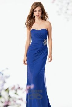 Shown in Azure…Iridescent Chiffon dress with a pleated bodice and softened sweetheart neckline. Draped fluted skirt with beaded accent at waist. Available in short, knee and floor lengths Bridesmaid Dresses Ireland, Red Bridemaids Dresses, Designer Bridesmaid Dresses, Bridesmaid Dress Styles, 2015 Wedding Dresses, Bridesmaids, Jordan Dress, Strapless Dress Formal, Formal Dresses