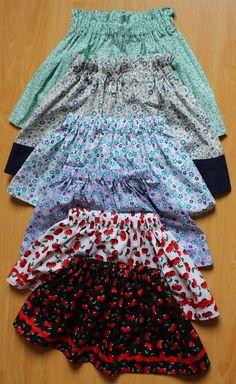 Mamma Gioca: Tutorial: come cucire una gonna arricciata per bambina