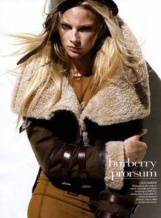Ieva Laguna by Thomas Schenk for Vogue España...killer jacket.