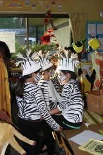 Safari super easy diy zebratiger costume all it takes is a little by creating a classroom read along or theater it will teach the students creativity as long solutioingenieria Images