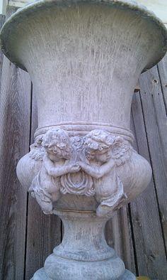 Garden Urns, Garden Statues, Garden Sculpture, Garden Figurines, Vases, Urn Planters, French Decor, Garden Ornaments, Porches