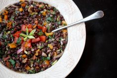 Black Bean Salad Recipe | The Old Hen Bed & Breakfast and The Old Hen Blog