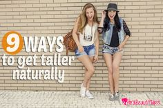 There are numerous ways and simple steps on how to get taller naturally. You still have the chance to do so if you desire to grow taller by a couple of inches How To Be Taller, How To Get Tall, Grow Taller Exercises, Height Growth, Increase Height, Short People, Get Skinny, Body Hacks, Keeping Healthy