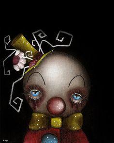 Hatter Clown Print $23.00