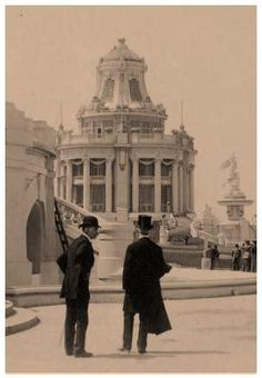 1904 St. Louis Worlds Fair Old Photos, Vintage Photos, Louisiana Purchase, St Louis Mo, Second Empire, World's Fair, Interesting History, World History, Historical Photos