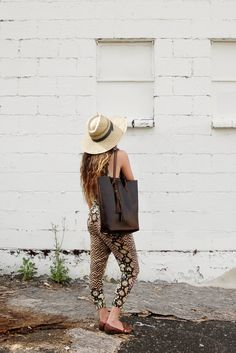 The Panama Tote- Deep Brown Chromexcel Horween leather tote on Etsy, $299.00