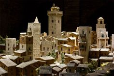 """""""San Gimignano 1300″, The Medieval Town in Miniature.  This new Museum and exhibition is dedicated to This new Museum and exhibition is dedicated to San Gimignano's history and people, becoming soon one of the main attractions of the village.  It perfectly reproduces this unique Italian hamlet as it was during Medieval Times."""
