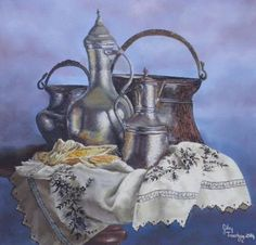GÜLAY TINAZTEPE - Turkish Artist Painter - ART WORKS