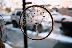 Tree of Life dreamcatcher. This would make a beautiful tattoo.