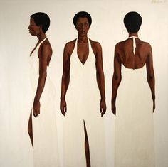 Barkley Hendricks. God, I'd love to have one of his paintings on my wall..