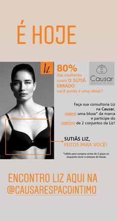 f22f22a92 Faça a sua consultoria sobre como usar o sutiã Liz correto e saiba que 80%