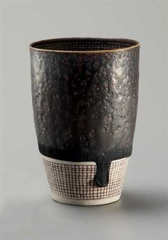 Lucie Rie - Rare and early beaker vase, 1953