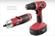 SKIL Cordless Drill & Screwdriver Set - $72 Includes Shipping (Great Gift Idea for Guys) - http://frugalorfree.com/deals/skil-cordless-drill-screwdriver-set-72-includes-shipping-great-gift-idea-for-guys/