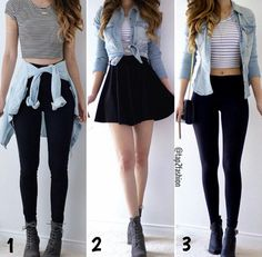 Outfits for teens, casual outfits, dress outfits, fashion outfits, womens. Teenage Girl Outfits, Teen Fashion Outfits, Teenager Outfits, Cute Fashion, Look Fashion, Outfits For Teens, Fall Outfits, Summer Outfits, Dress Outfits