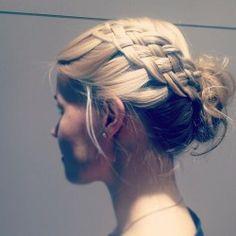 5strand #prom hair