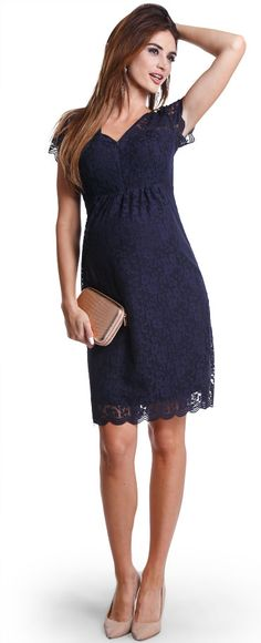 Happy mum - Maternity wear & fashion, dresses, Midnight navy dress.