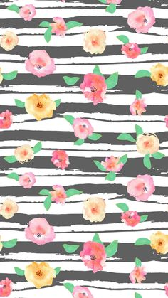 Watercolor-Floral-Striped-Smart-Phone-Background.png 1 080×1 920 пикс