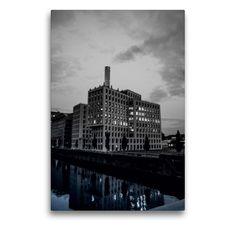 Monochrom, Frankfurt, New York Skyline, Travel, Round Tower, Culture Travel, County Seat, Water Art, Viajes