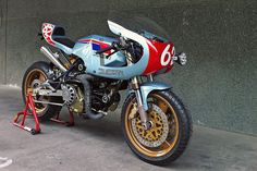 There's a sweet spot in custom motorcycle building—a point where performance and beautiful aesthetics collide. Spain's Radical Ducati hit this spot time after time, and they've done it again with 'Pantahstica'. You could be forgiven for thinking it's a Ducati Pantah, given the color scheme, but it's actually based on a Cagiva Alazzurra, a mid-80s…