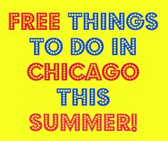 Free things to do in Chicago over the summer