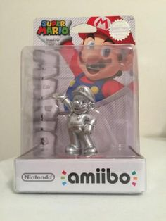 NINTENDO AMIIBO Super MARIO SILVER Edition New Release ** US VERSION ** - http://video-games.goshoppins.com/video-gaming-merchandise/nintendo-amiibo-super-mario-silver-edition-new-release-us-version/