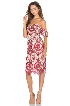 NBD x REVOLVE Beaux Dress in Red